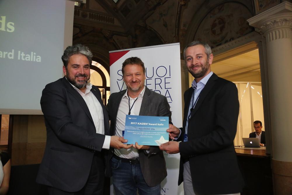 Kaizen Award Italia: Polidoro tra le aziende finaliste