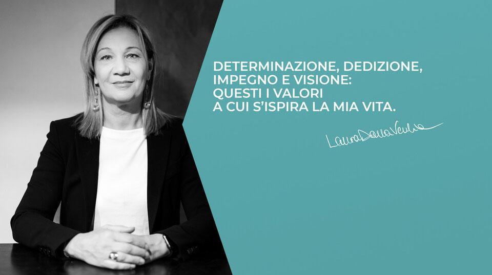 Laura Dalla Vecchia è candidata alla presidenza di Confindustria Vicenza